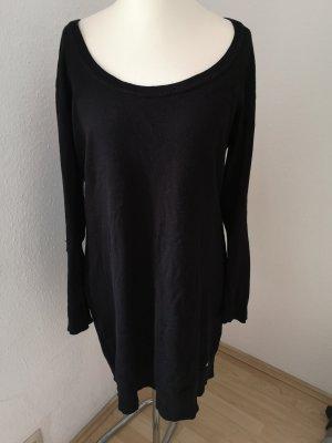 AJC Robe en maille tricotées noir