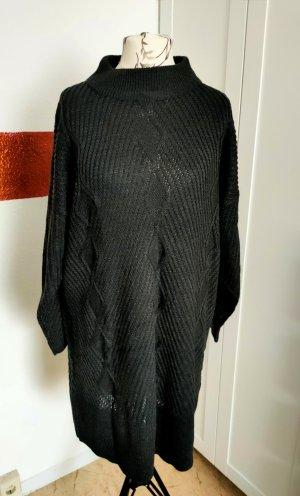 b.p.c. Bonprix Collection Abito di maglia antracite Poliestere