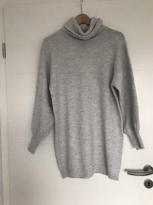 ASOS DESIGN Petite Robe en maille tricotées argenté-gris clair