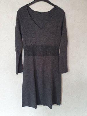 Passport Knitted Dress dark grey
