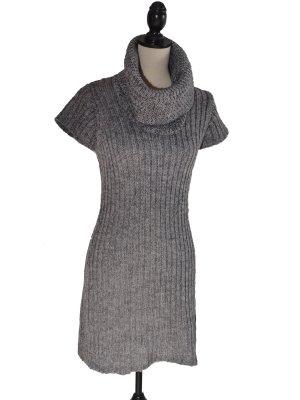 Vestido tejido gris lana de alpaca