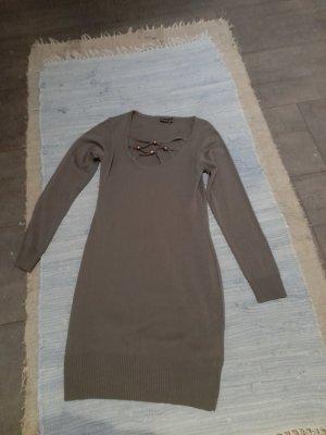 BODY FLIRT Abito di maglia grigio-marrone-grigio Acrilico
