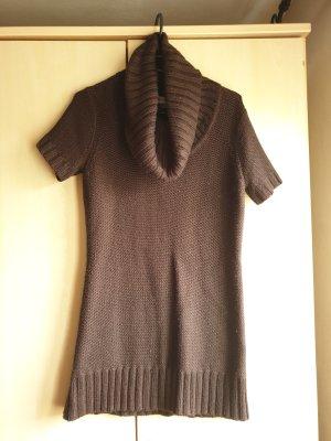 Autumn Magic Knitted Dress brown polyacrylic