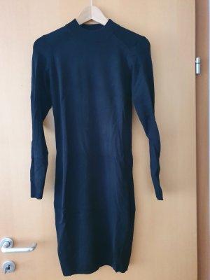 Amisu Vestido tejido negro