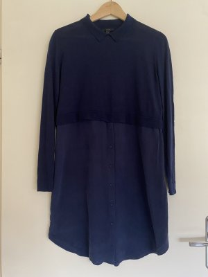 COS Knitted Dress dark blue