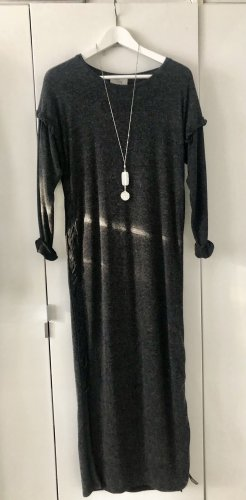 Cotton Candy Knitted Dress anthracite