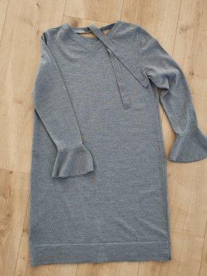 Backstage Robe en maille tricotées gris