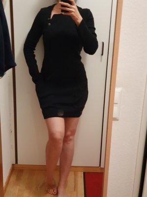 Lanvin Woolen Dress dark blue