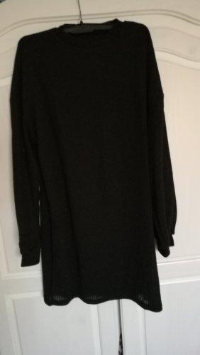 Mango Knitted Dress black