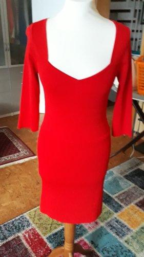 Lawrence Grey Abito di maglia rosso chiaro-rosso