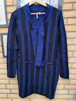 BODY FLIRT Sukienka z dzianiny czarny-niebieski
