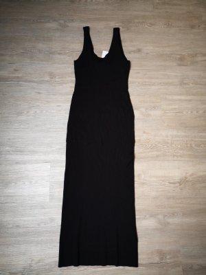 Strickkleid H&M Kleid schwarz S Neu lang