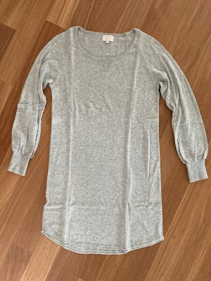 Not Shy Robe pull gris clair coton