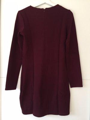 Zara Robe en maille tricotées violet