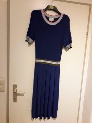 Nümph Robe en laine bleu