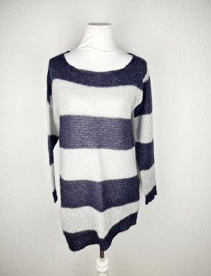 Strickkleid langer Pullover Casual-Look
