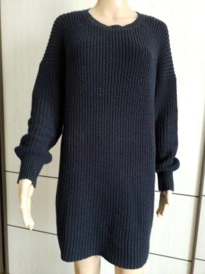 Lawrence Grey Wollen jurk donkerblauw