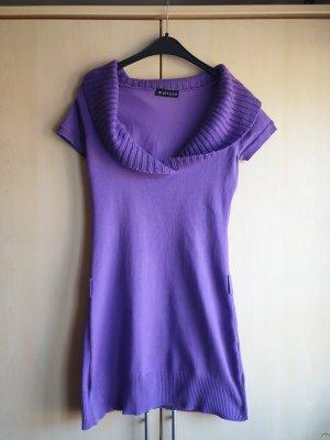 Melrose Robe en maille tricotées violet