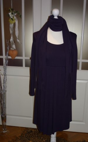 Robe empire violet