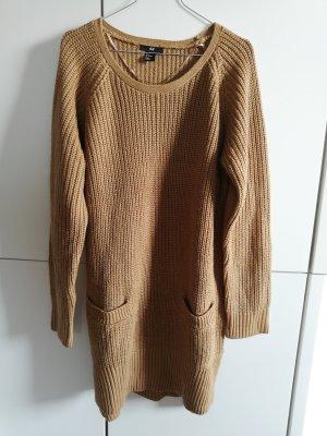 H&M Abito di maglia marrone chiaro