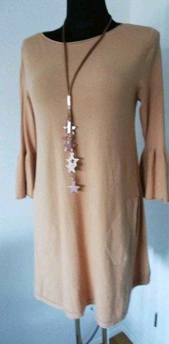 Made in Italy Abito di maglia color cammello