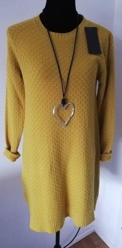 Made in Italy Knitted Dress yellow