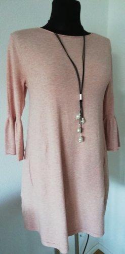 Made in Italy Gebreide jurk rosé