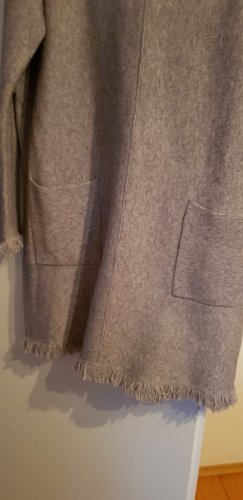Knitted Dress silver-colored