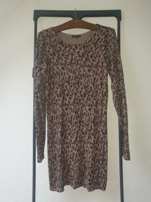 Amisu Robe Sweat gris brun