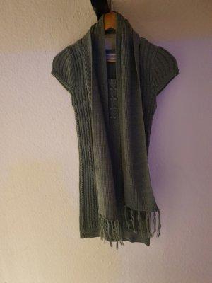 Clockhouse Gebreide jurk grijs