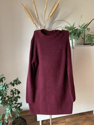 Mango Woolen Dress purple
