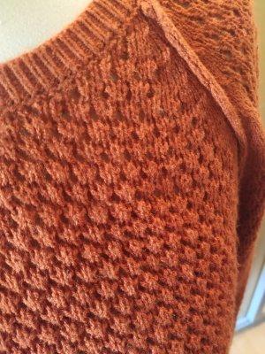 Jacqueline de Yong Robe en laine orange foncé