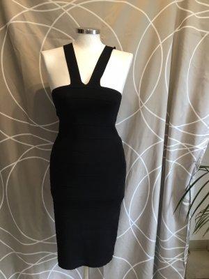 Sinéquanone Sukienka z dekoltem typu halter czarny