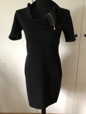 Escada Robe en maille tricotées noir