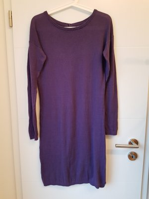 armedangels Vestido tejido violeta oscuro