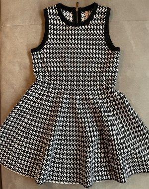 Sweewe A Line Dress black-white viscose