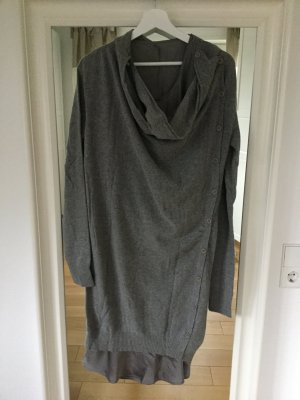 Strickkleid von TWIN SET , grau, Größe 40