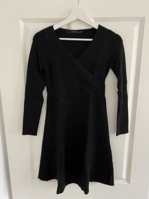 Vero Moda Vestido tejido negro