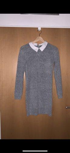 Primark Gebreide jurk lichtgrijs-grijs