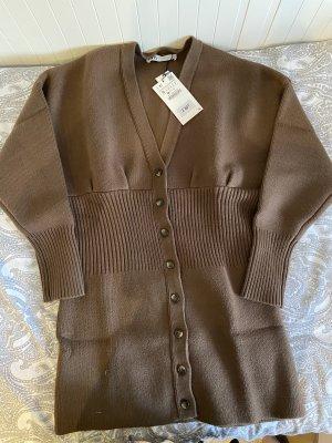 Zara Sweater Dress brown