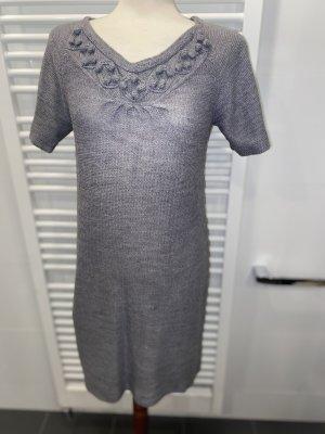 Stricklongpulli- bzw. Kleid Gr. 40