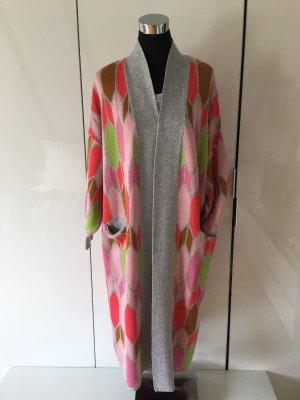 Delicate Love Manteau en tricot multicolore