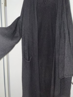 Manteau oversized noir
