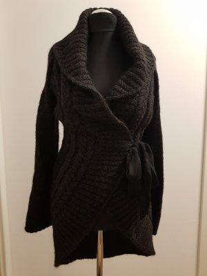 Northland Gebreide jas zwart-donkergrijs