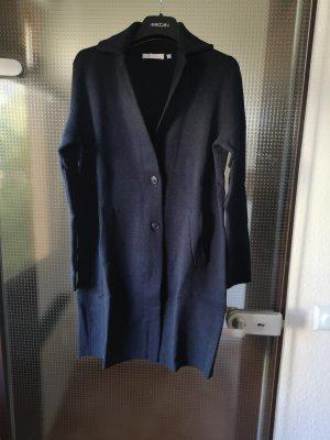 (The Mercer) NY Knitted Coat dark blue