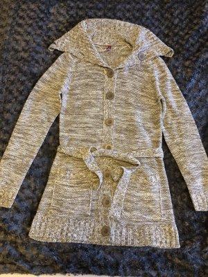 Magnum Gebreide jas lichtbruin-wit