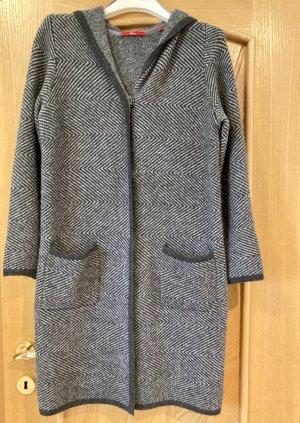 s.Oliver Cappotto a maglia grigio scuro Acrilico
