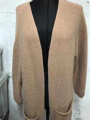 Alexandre Laurent Paris Cappotto a maglia color cammello Viscosa
