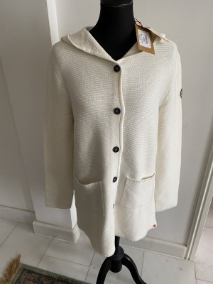 Adenauer & Co Knitted Coat natural white