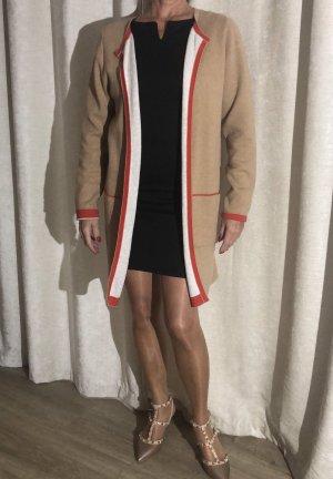 s.Oliver Gebreide jas nude-rood Katoen